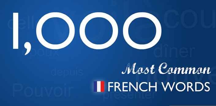 Top 1000 French Words