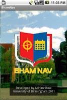 Screenshot of BhamNav (Legacy Edition)