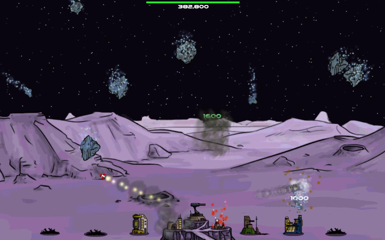 Super Moon Defender - screenshot