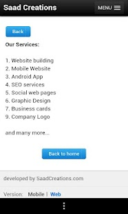 SaadCreations for Business- screenshot thumbnail