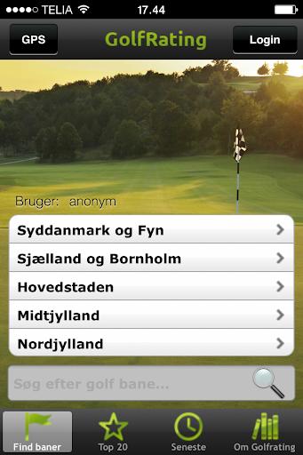 GolfRating.dk