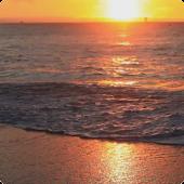 Sunset Beach Live Wallpaper HD