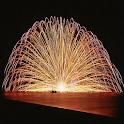Fuochi d'artificio Water LWP icon