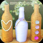 DIY Wine Bottles Crafts