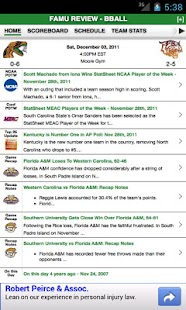 FAMU Football & Basketball - screenshot thumbnail
