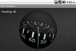 Screenshot of Ball Compass 3D