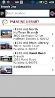 Screenshot of Palatine Library