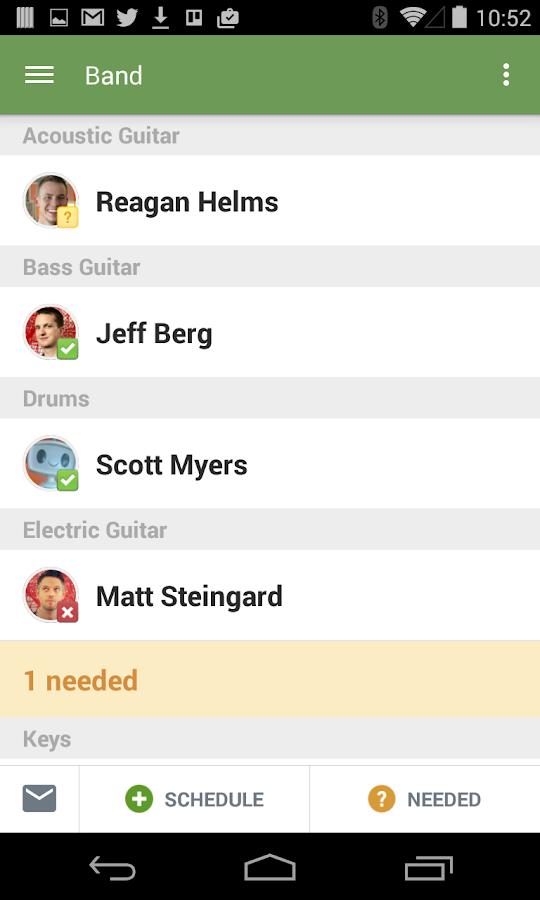 Planning Center Services - screenshot