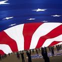 American Flag Clock Widget Pro icon
