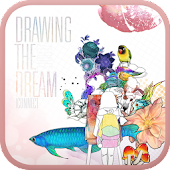 Drawing the Dream go launcher