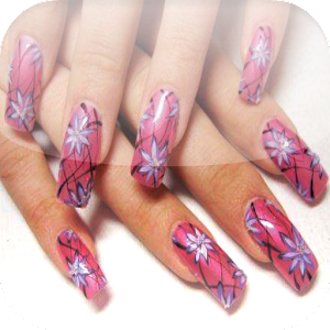 Nail art design tutorial step android apps on google play nail art design tutorial step prinsesfo Images