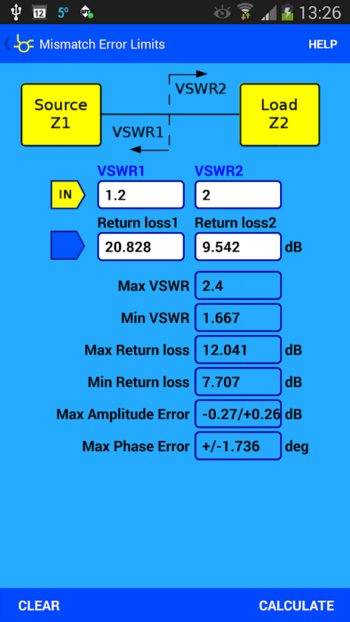 RF & Microwave Toolbox lite- screenshot