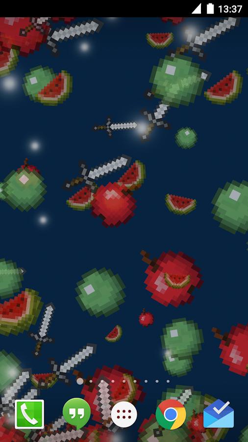 Live Minecraft Wallpaper - screenshot