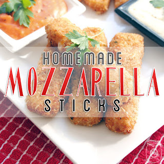 Homemade Mozzarella Sticks Recipe