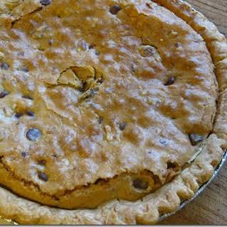 Chocolate Chip Cookie Pie.