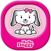 Hello Doggy Full Pink GO Theme