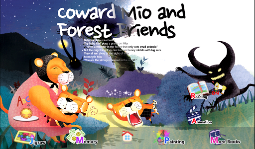 Coward Mio and Forest Friends
