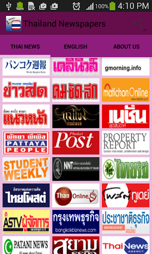 Thailand Newspapers