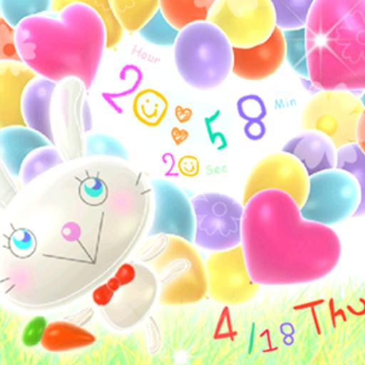 Balloon Rabbit LWP Trial LOGO-APP點子