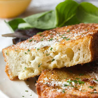 Savory Parmesan French Toast.
