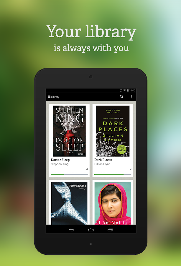 txtr ebooks- screenshot
