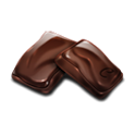 Chocolate quotes icon