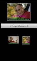 Screenshot of Dalai Lama Wallpaper