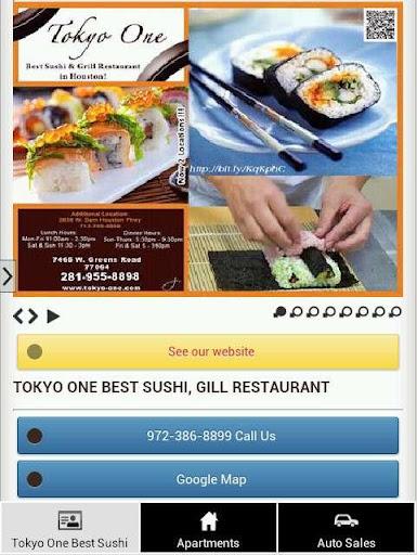 Tokyo One Best Sushi