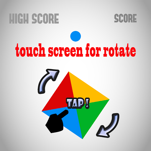 【免費策略App】Quad Twister Turn Colors-APP點子