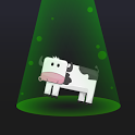 Aliens & Farm: The cow game icon