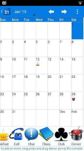 Calendar 2015 US