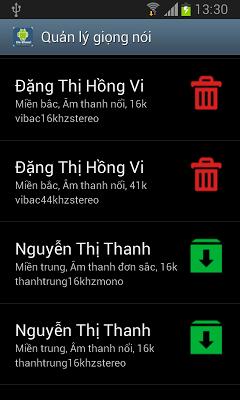 vnSpeak TTS - screenshot
