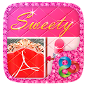 Sweety Pink GO Launcher Theme icon