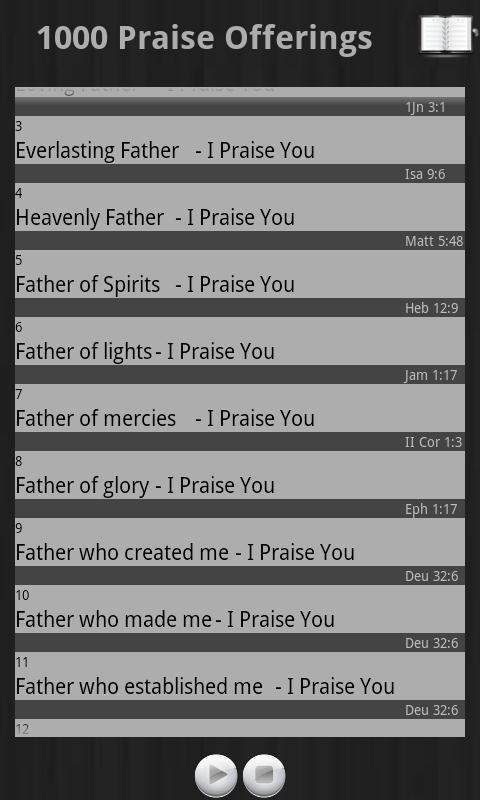 1000 Praise Offerings Pro- screenshot