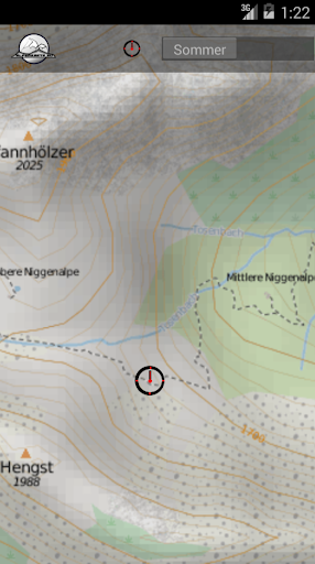 【免費旅遊App】BREGENZERWALD Gebirgskarte-APP點子