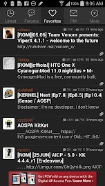 XDA for Android 2.3 Screenshot 4