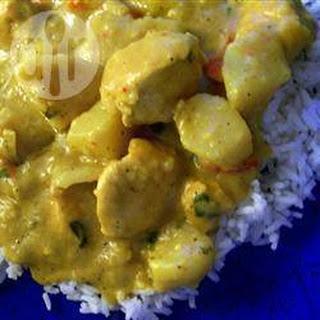 Curry Met Kip En Sherry