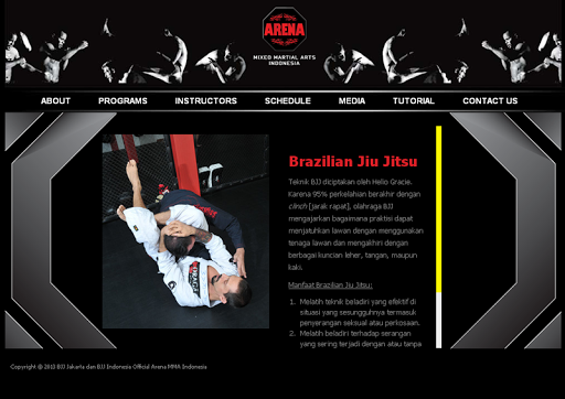 Arena MMA Indonesia Launcher