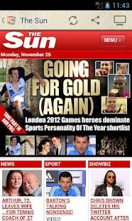 UK Newspapers - screenshot thumbnail