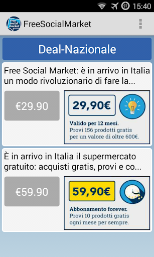Free Social Market