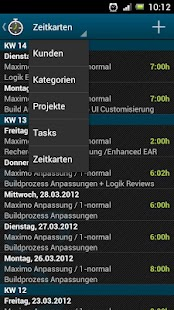 TimeTracker - Time Recording- screenshot thumbnail