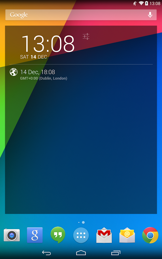 Time Zone for DashClock - screenshot