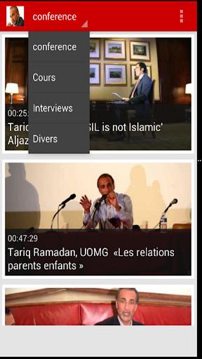 【免費媒體與影片App】Tariq Ramadan-APP點子