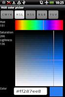 Screenshot of Rgb Color Picker