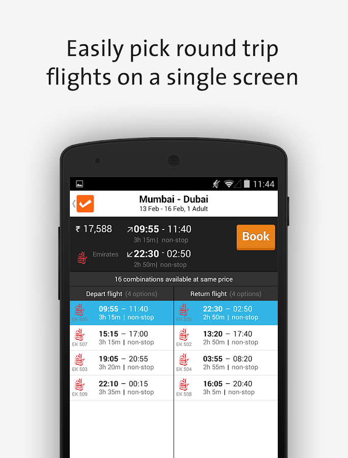 Cleartrip-Hotels Flights IRCTC - screenshot