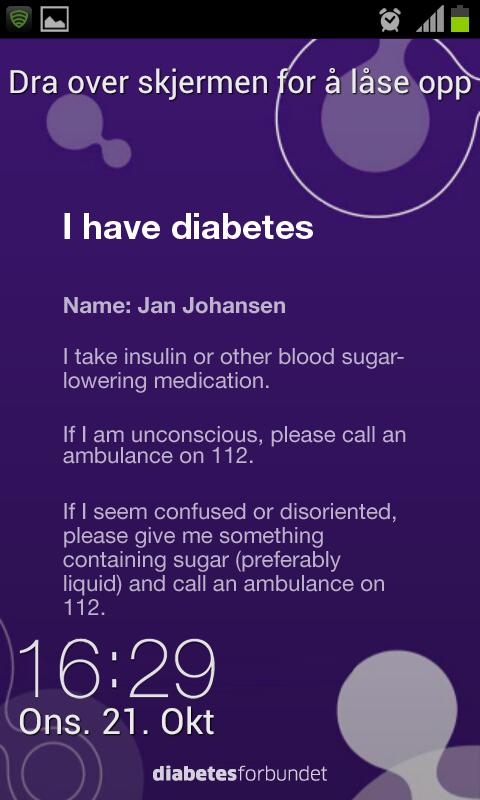 DiabetesID- screenshot