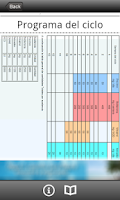Screenshot of Ciclos (Anabolizantes)