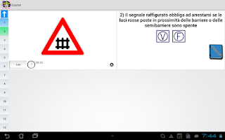 Screenshot of Patente Quiz e Manuale 2015