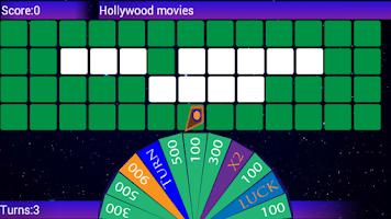Screenshot of Wheel of words