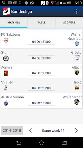 Bundesliga - Austrian Fußball